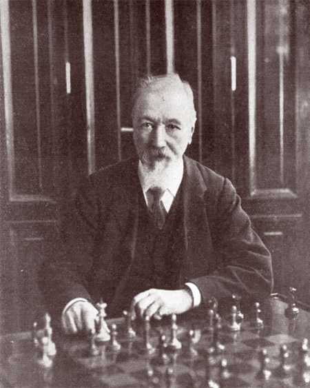 Joseph Henry Blackburne ajedrez chess