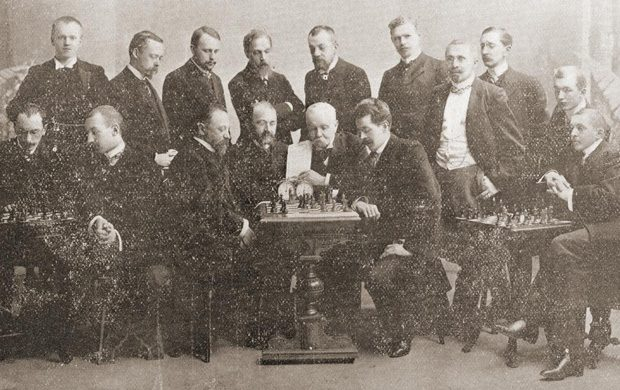 Joseph Henry Blackburne chess ajedrez whisky