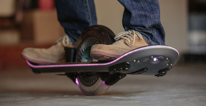 hoverboard patin volador patinete