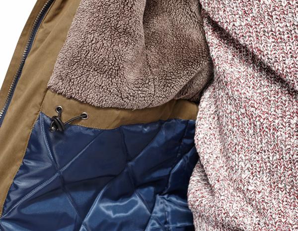lookbook tiwel detalle interior abrigo