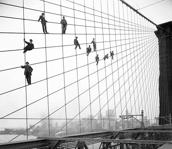 Pintores puente de Brooklyn