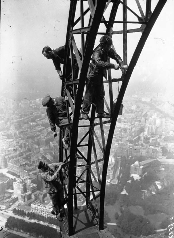 pintores Torre Eiffel París