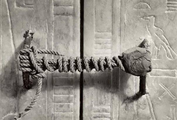 sello tumba Tutankamón 1922