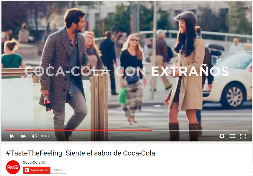 coca-cola tiwel siente el sabor