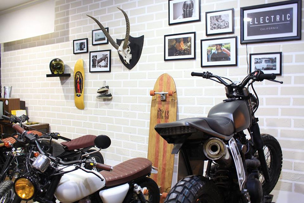 backdoor motorcycle shop