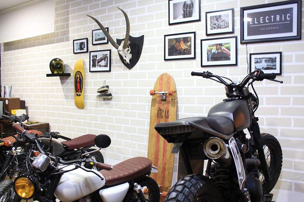 backdoor motorcycle shop