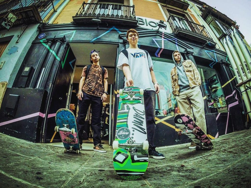 blow street shop sevilla skate