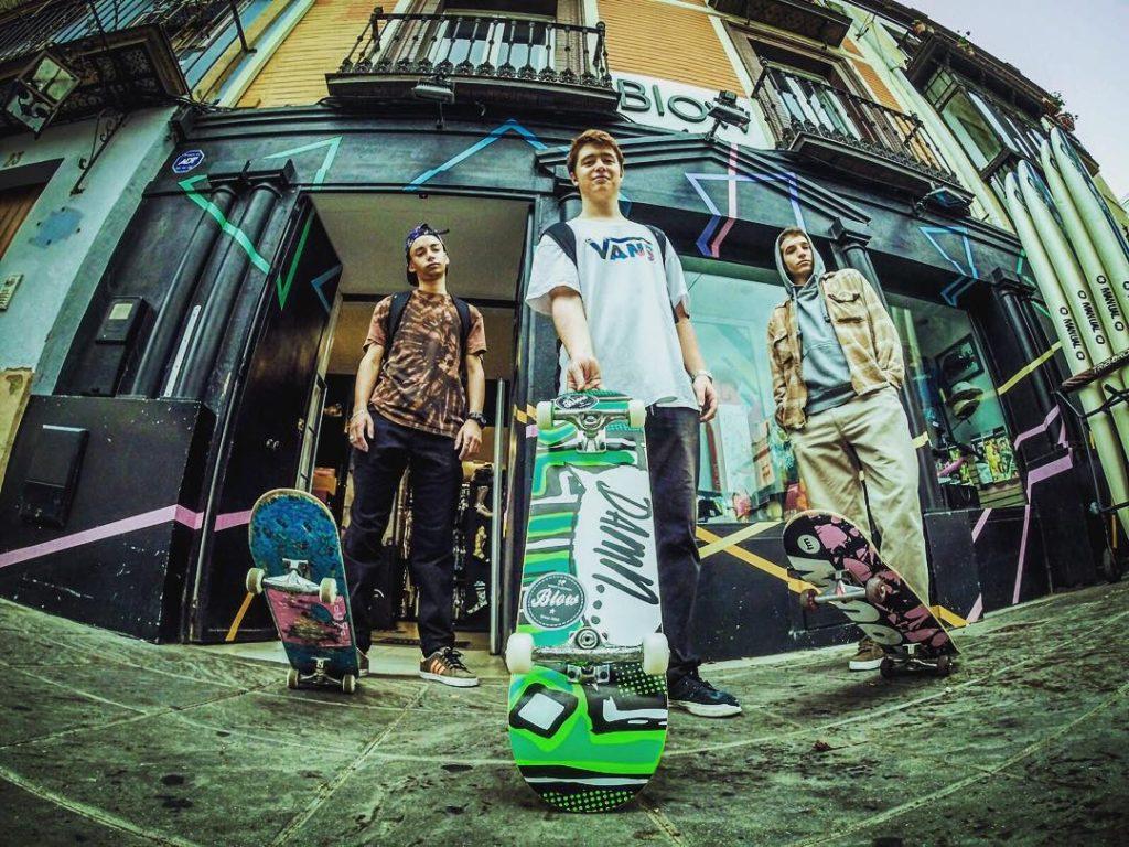 blow street shop sevilla skate