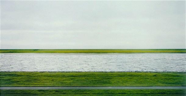 fotos más caras de la historia Andreas Gursky Rhin