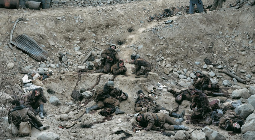 fotos más caras de la historia Jeff Wall Dead Troops Talk