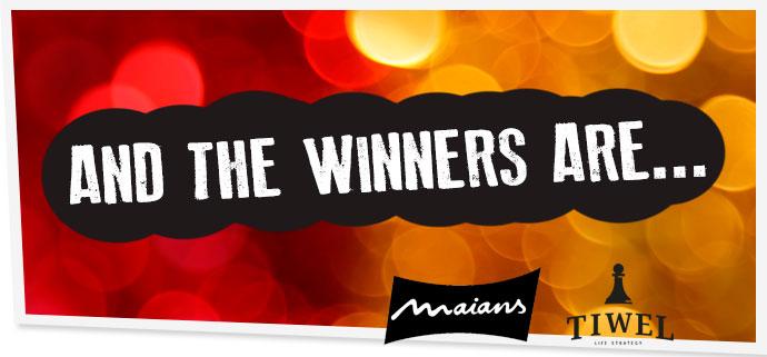 Ganadores del concurso Tiwel-Maians