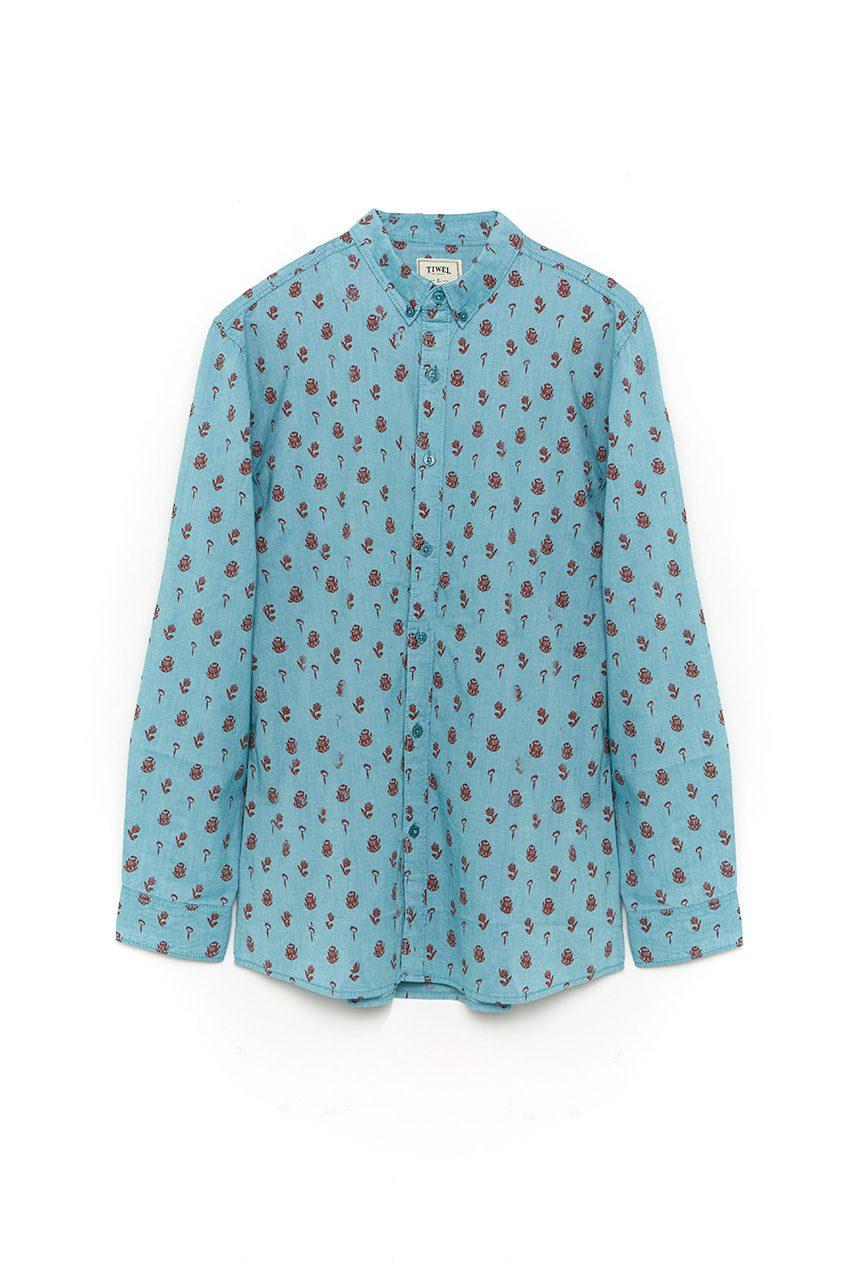 Camisa-Bybild-Haze-Blue