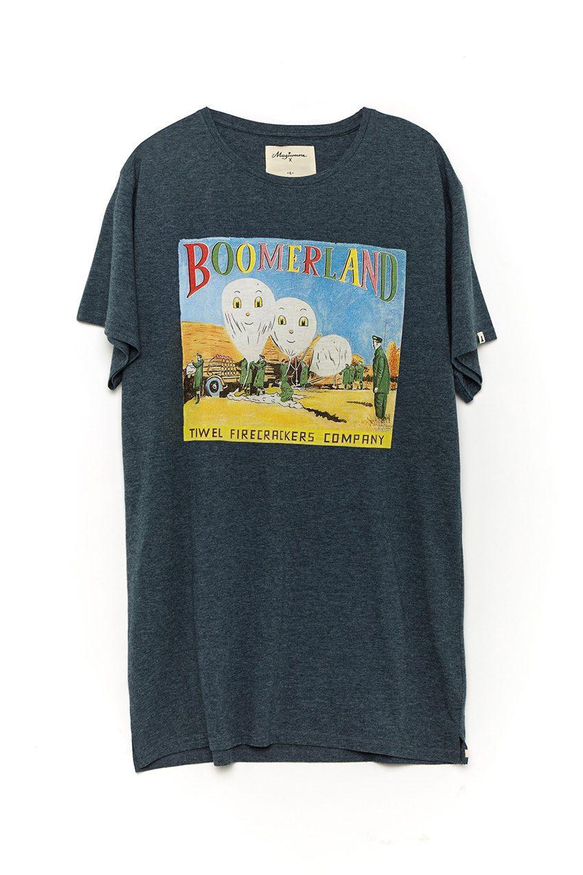 Camiseta Boomer Dark Navy Melange