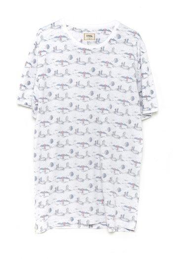 Camiseta-Cosmic-Off-White-Melange