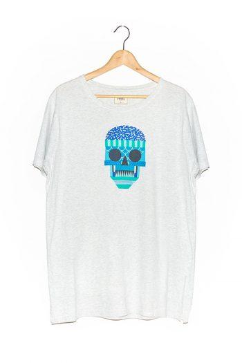 Camiseta Kulskul White Melange