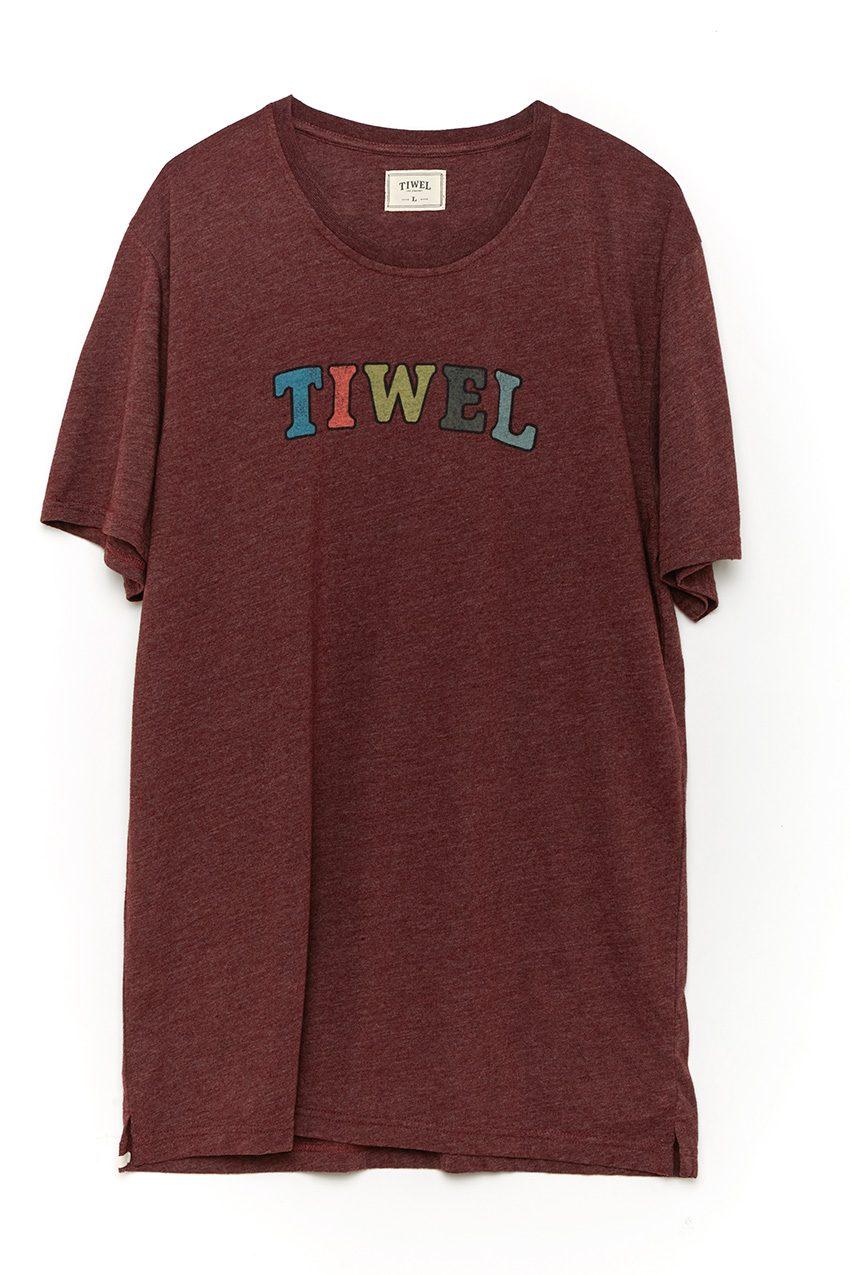 Camiseta-Multi-tee-Marsala-Melange