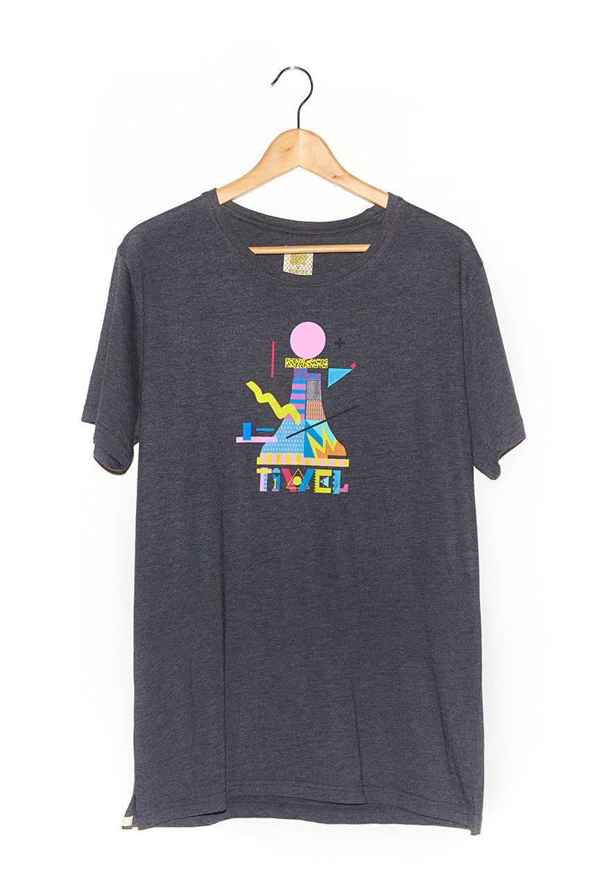 Camiseta-Tiwest-faded-Black-Melange