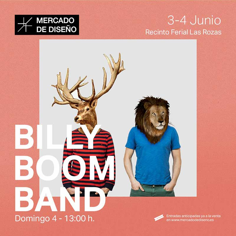 Billy Boom Band Las Rozas concierto
