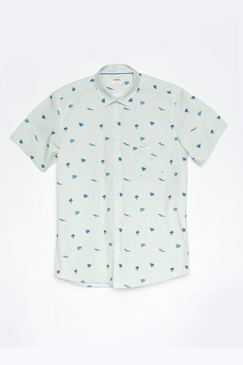 Camisa Addu Tiwel meadow mist
