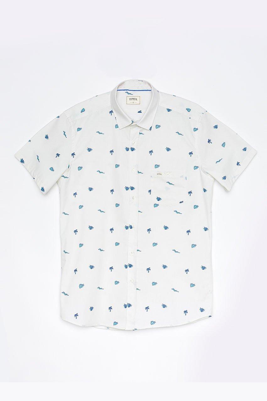 Camisa Addu Tiwel off white
