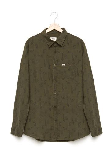 Camisa Begin Olive Command