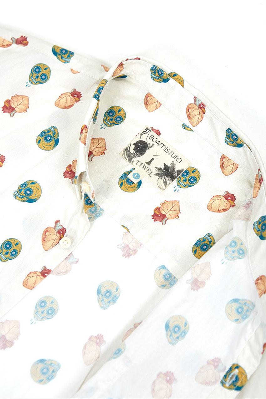 Camisa Boa Mexico Tiwel snow white 03