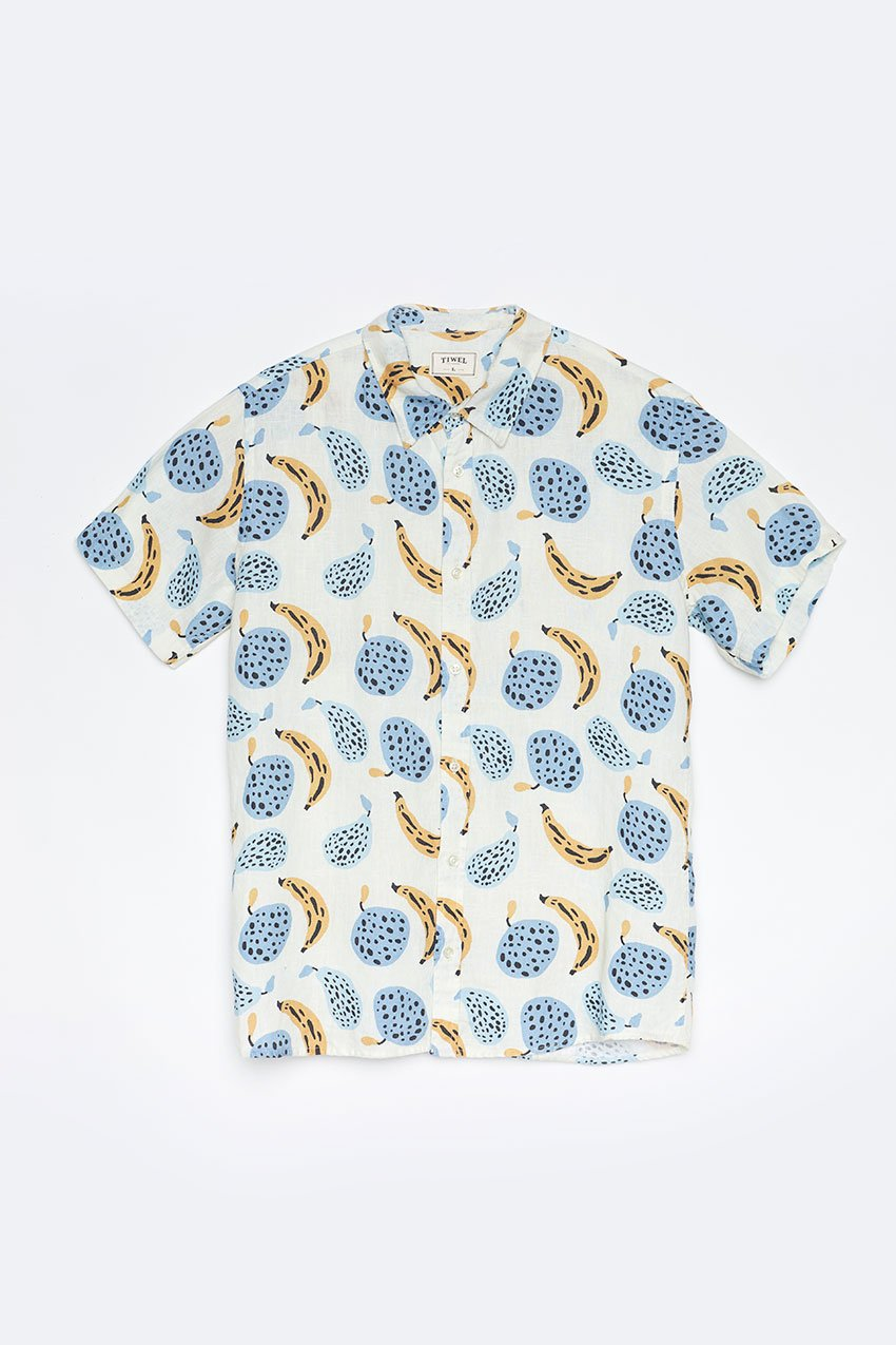 Camisa Calipso Tiwel off white