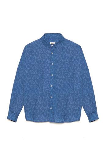 Camisa Cubix David Sanchez Brigade Blue 01