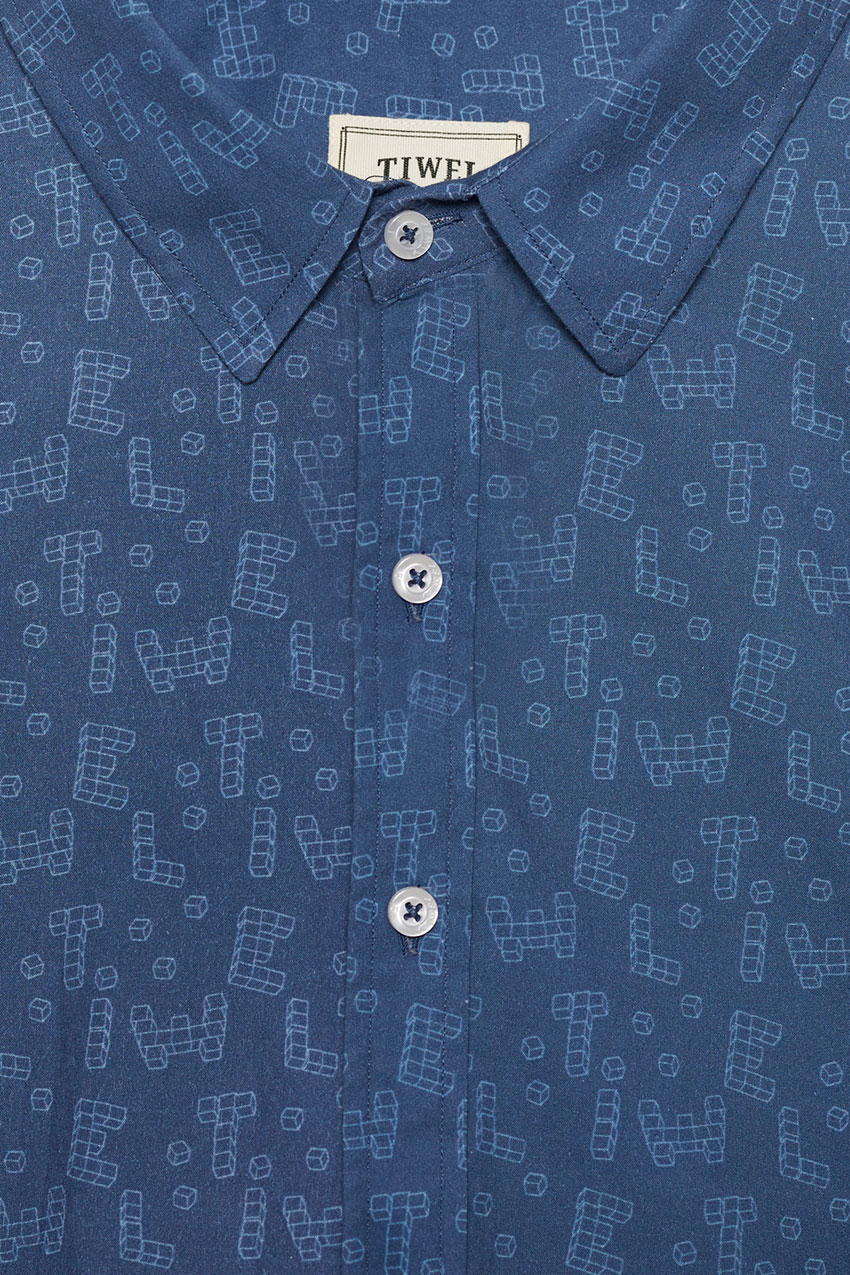 Camisa Cubix David Sanchez Brigade Blue 02