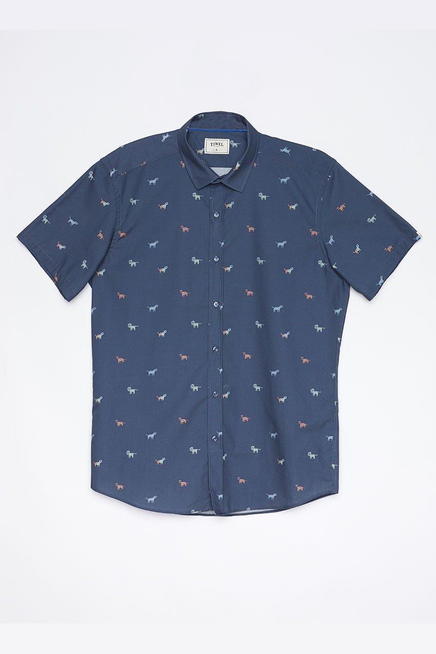 Camisa Faune Tiwel dark blue