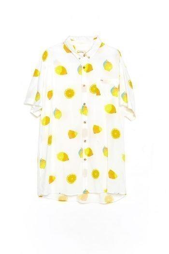 Camisa Fruit Tiwel snow white