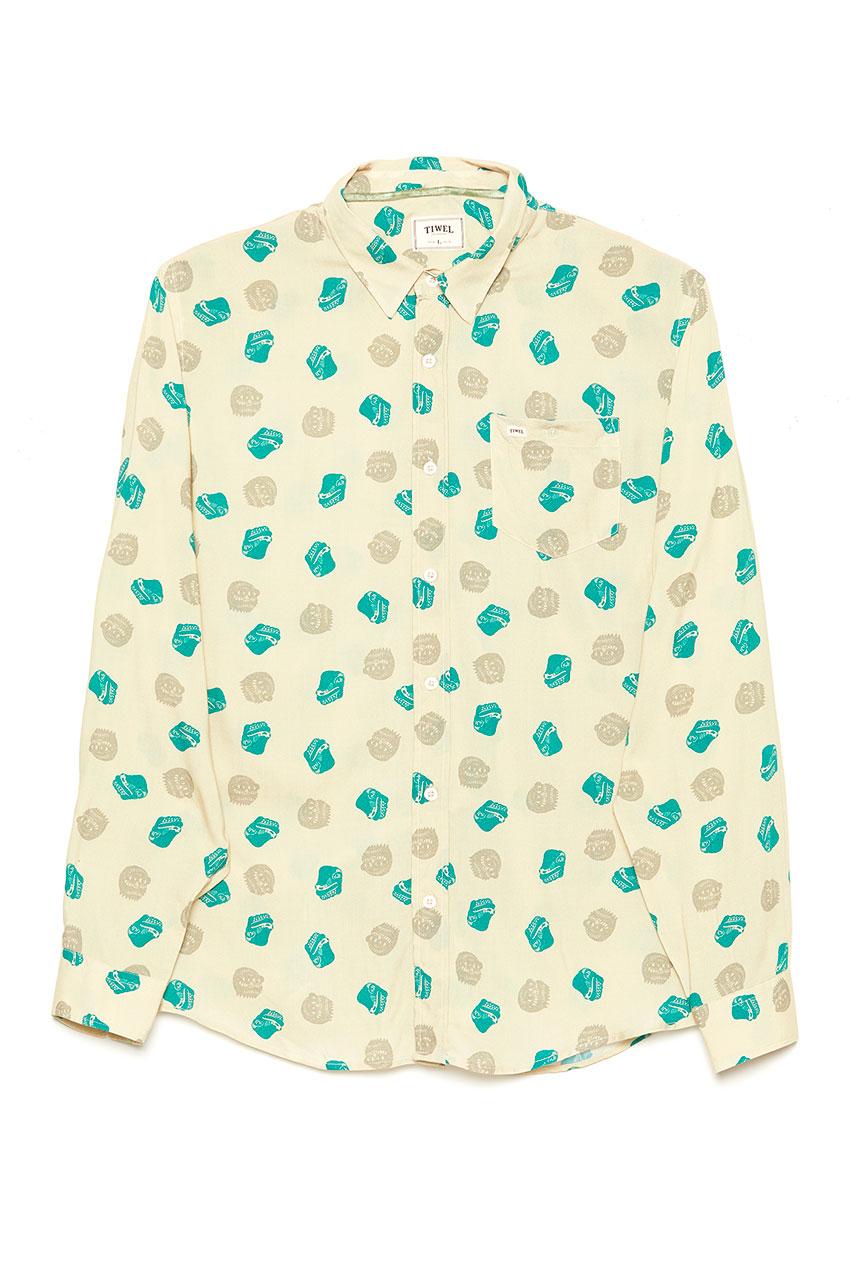 Camisa Fuji Oil Green 01