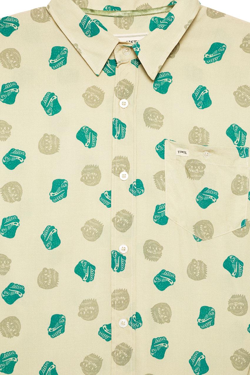 Camisa Fuji Oil Green 02