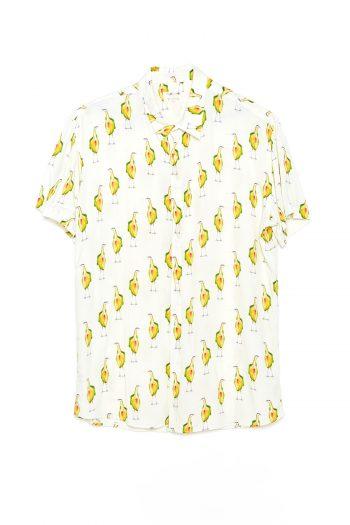 Camisa Garzas Tiwel off white