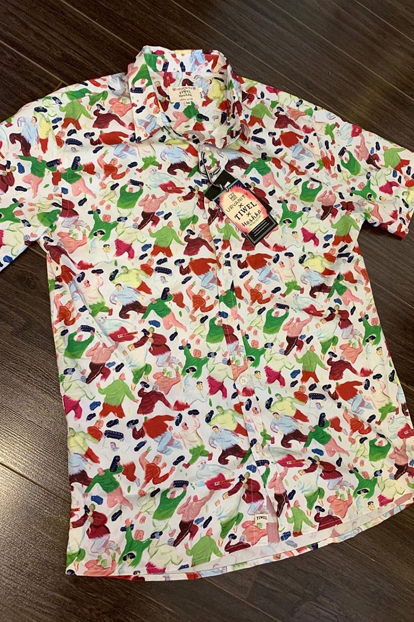 Camisa Glandular Heshka Urvanity 03
