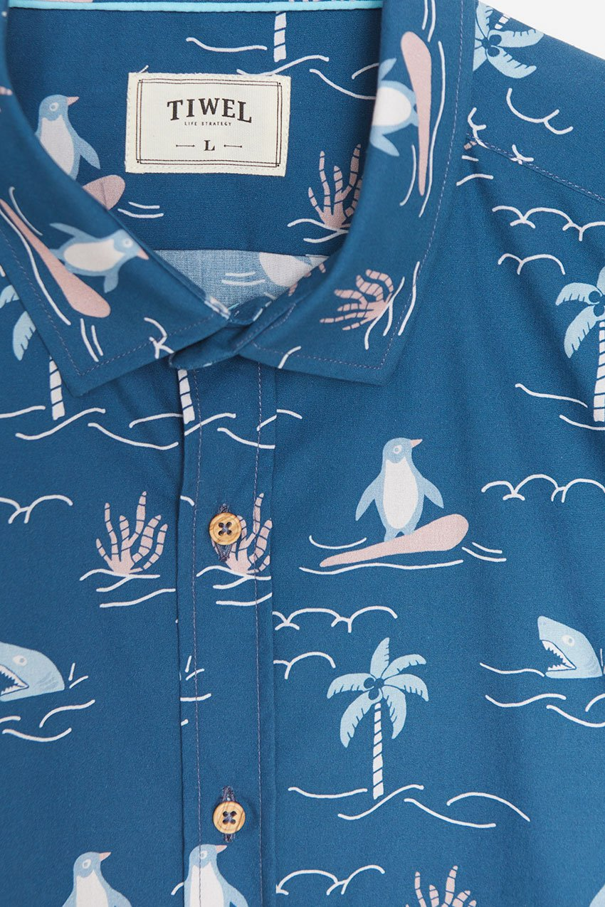 Camisa Honolulu Tiwel deep water 01