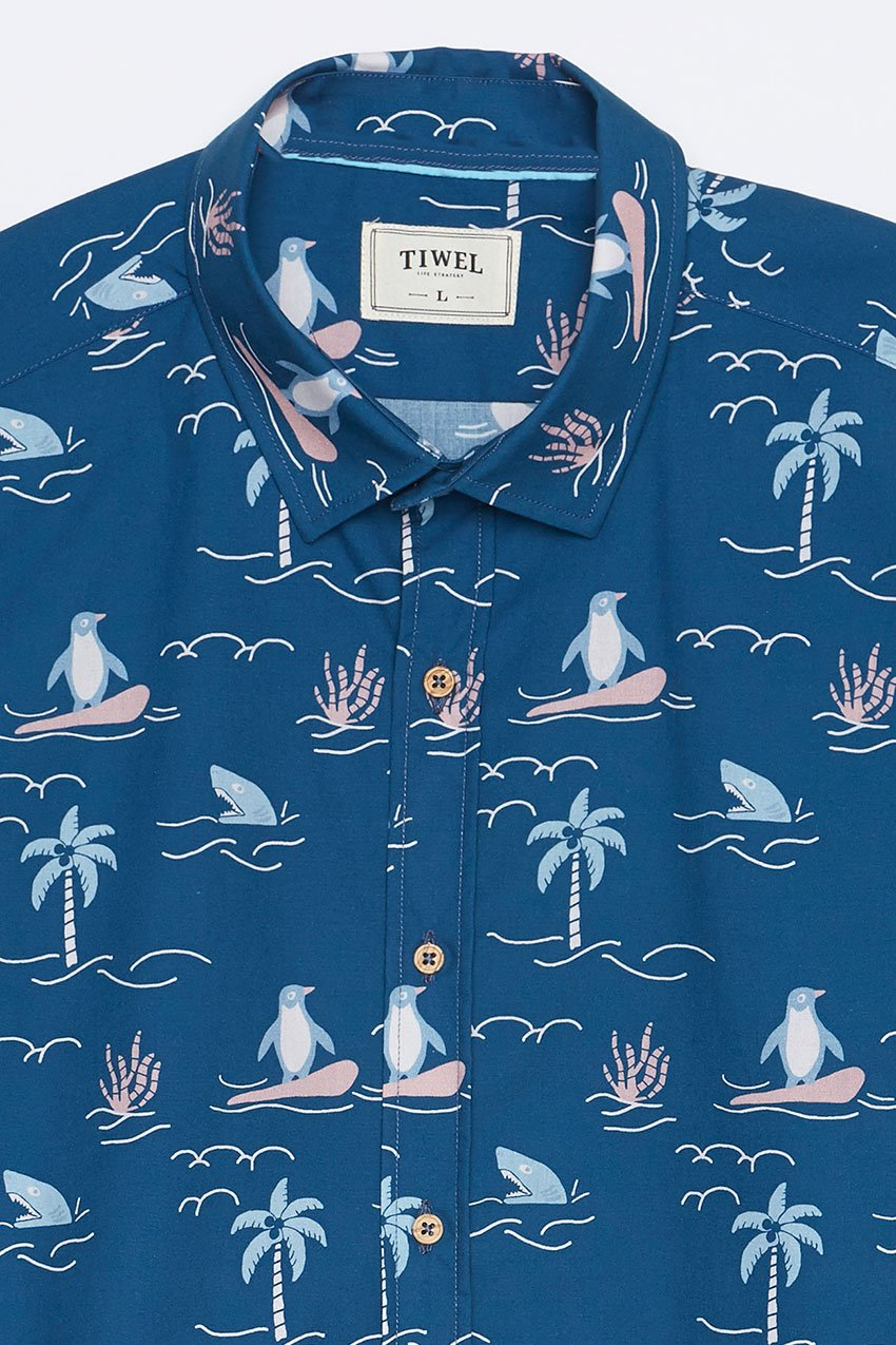 Camisa Honolulu Tiwel deep water 04