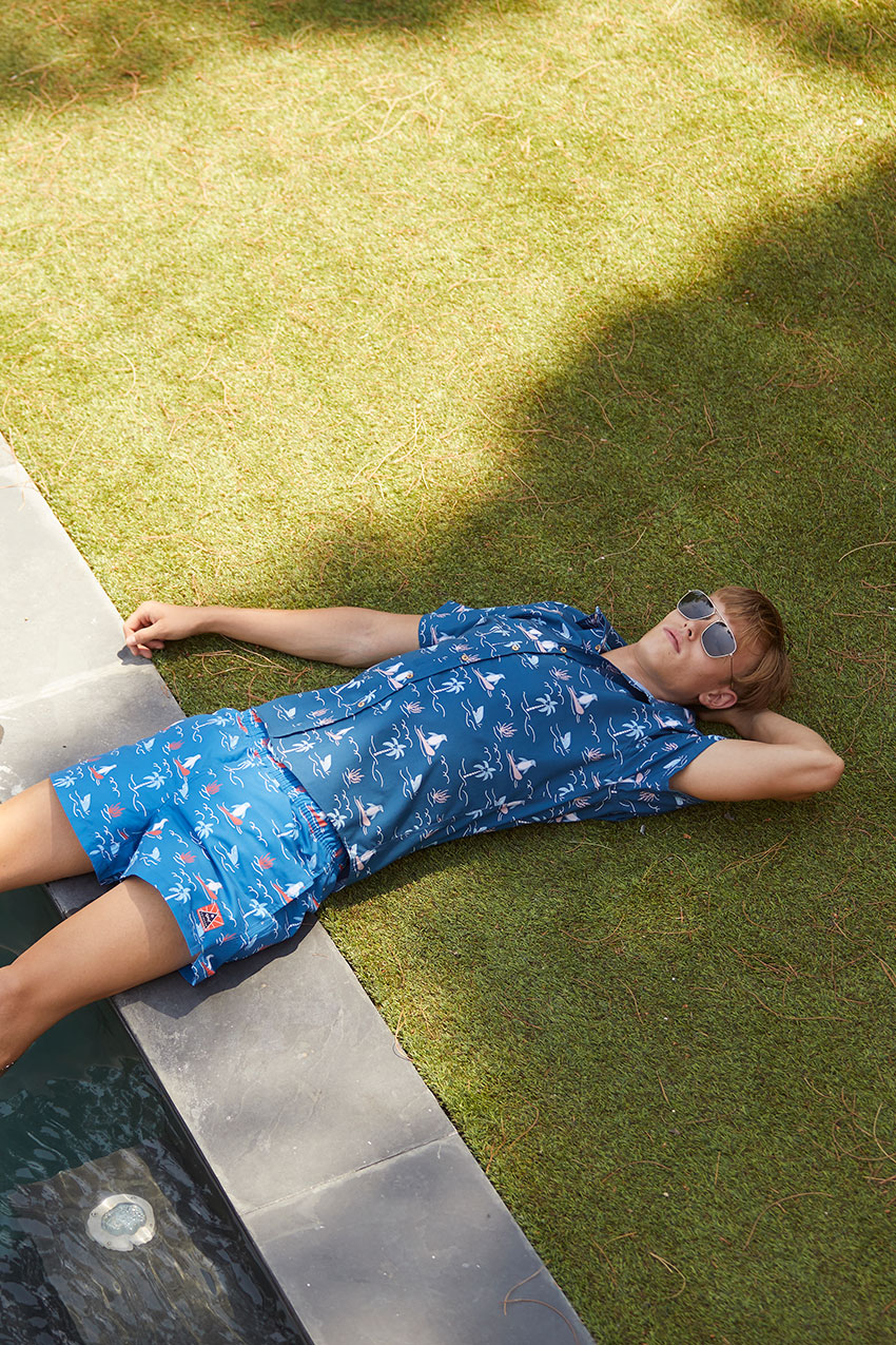 Camisa Honolulu Tiwel deep water 06