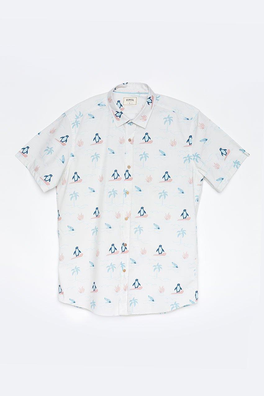 Camisa Honolulu Tiwel off white