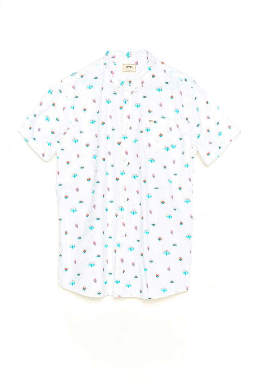 Camisa Illusion Tiwel snow white