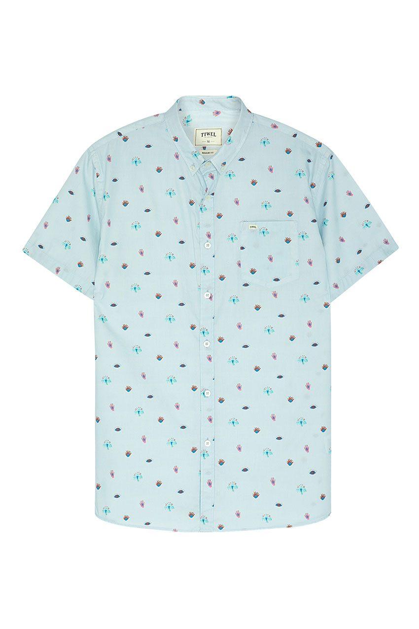 Camisa Illusion Tiwel wan blue