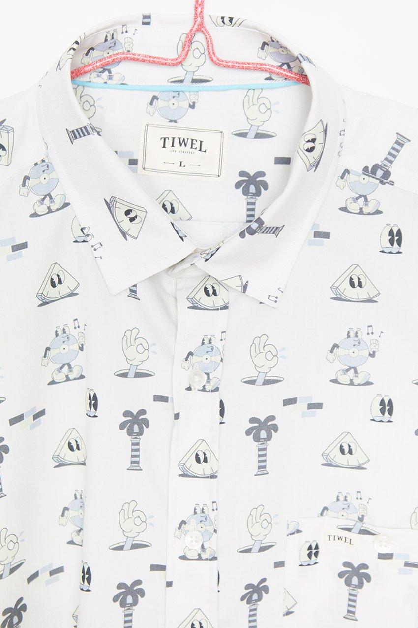 Camisa Mells Tiwel Yeye Weller off white 01