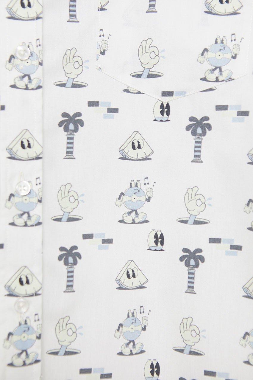 Camisa Mells Tiwel Yeye Weller off white 03
