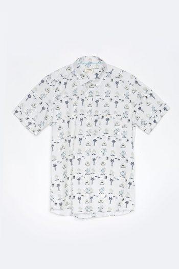 Camisa Mells Tiwel Yeye Weller off white