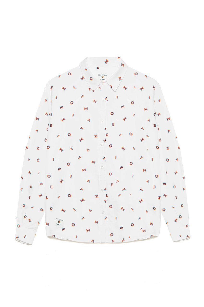 Camisa Movimiento Boa Mistura Bright White 01
