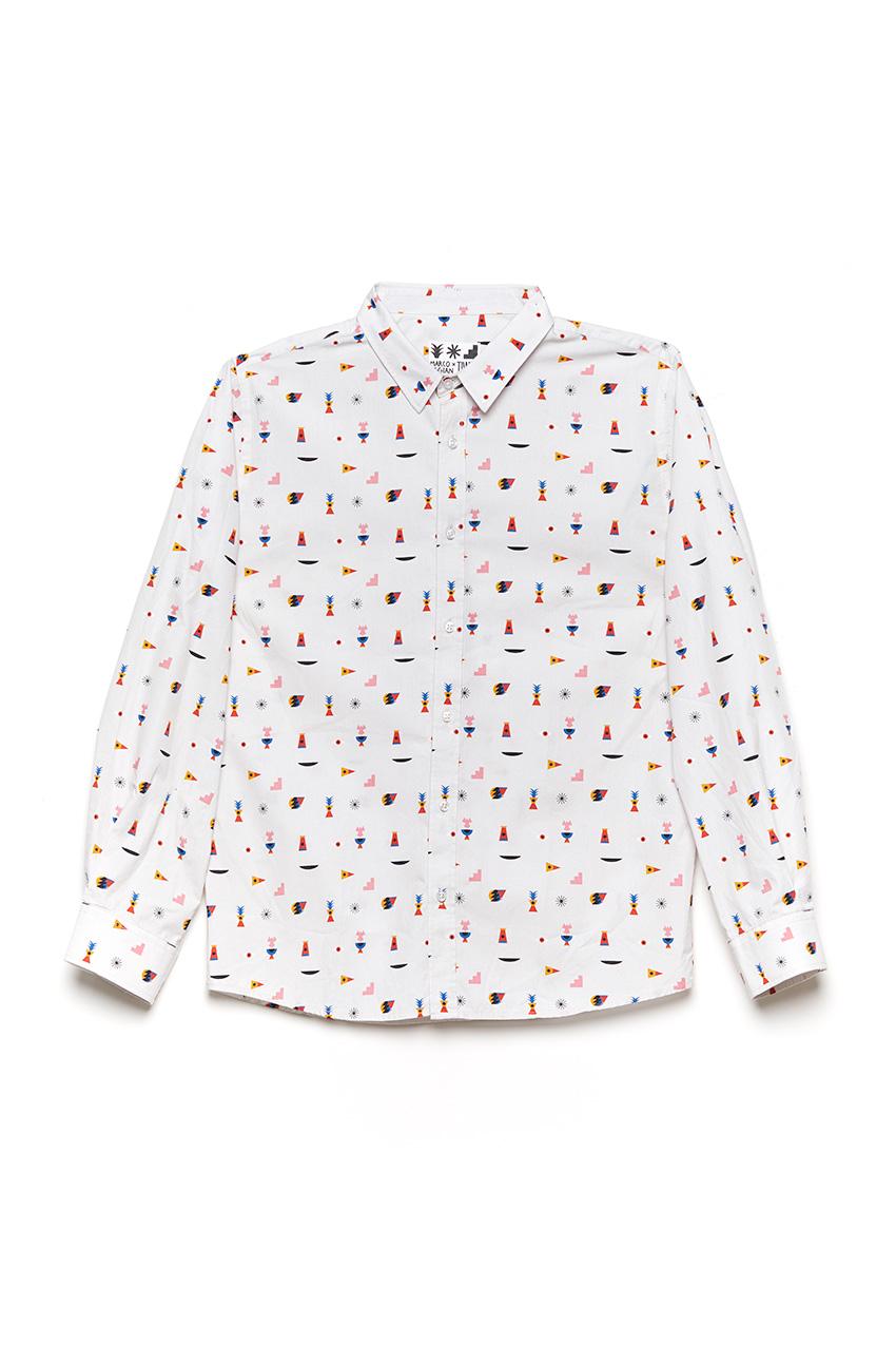 Camisa Oggy Elements Oggian Off White 01