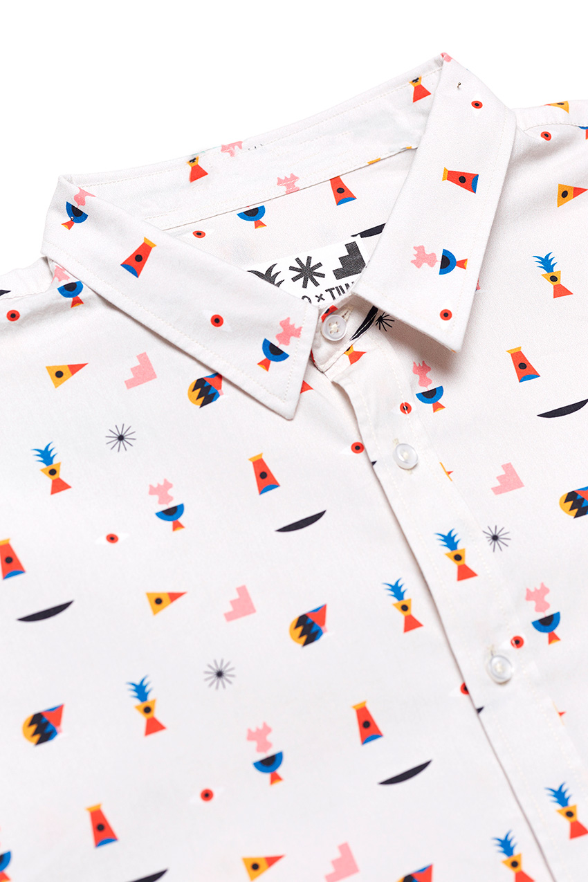 Camisa Oggy Elements Oggian Off White 02