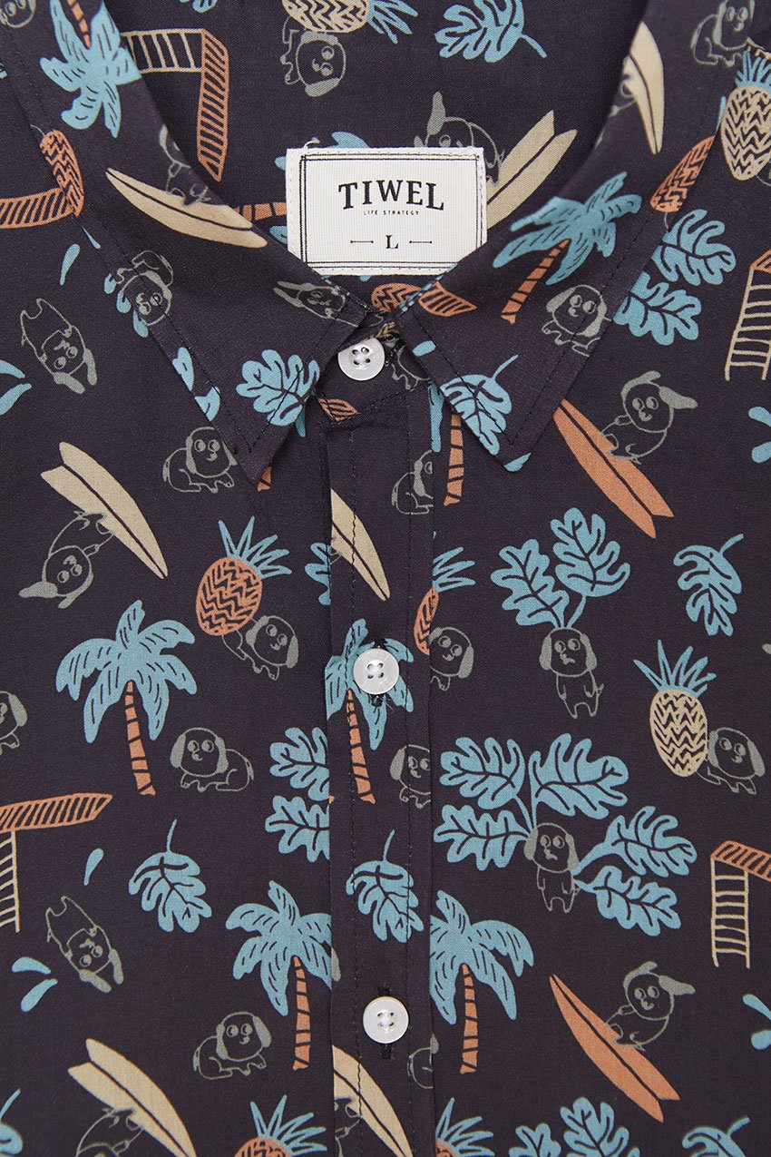 Camisa Summer Tiwel pirate black 01