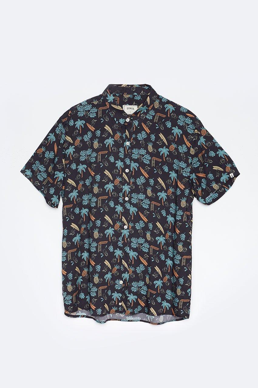 Camisa Summer Tiwel pirate black