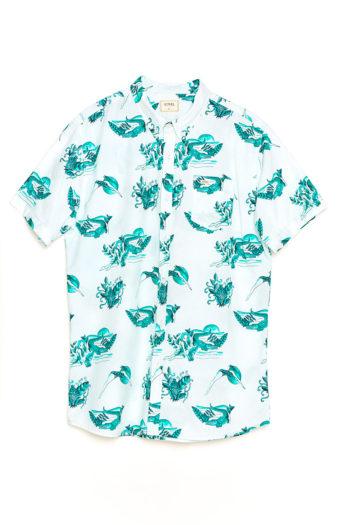 Camisa Swamp snow white